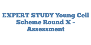 EXPERT STUDY Young Cell Scheme Round X – Assessment